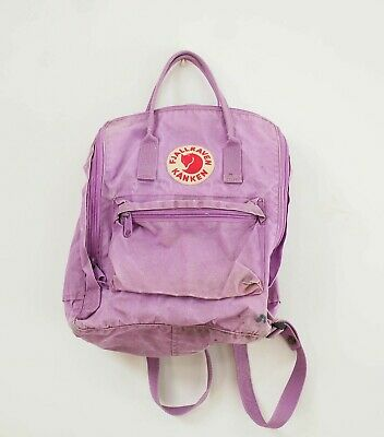 Authentic Fjallraven Kanken Backpack In Orchid Lilac 16L