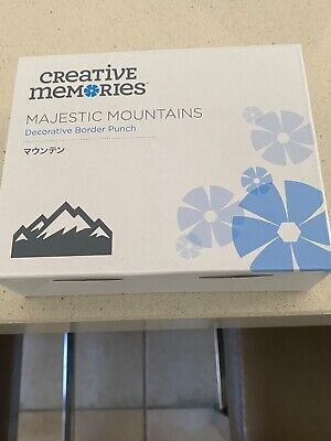 Creative Memories Majestic Mountains Border Punch