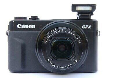 GENUINE UK SALE Canon PowerShot G7 X Mark II Digital Camera BOXED GOOD CONDITION