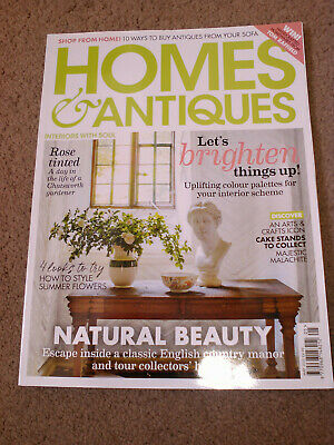 BBC Homes and Antiques Magazine May 2020 Issue
