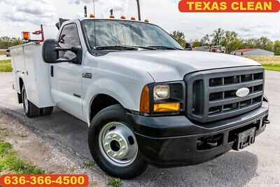 2006 Ford F350 Super Duty Xl Used mechanics service bed Texas clean diesel nice