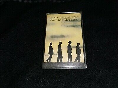 Echo & the Bunnymen Songs to Learn & Sing Cassette Tape Post-Punk New Wave