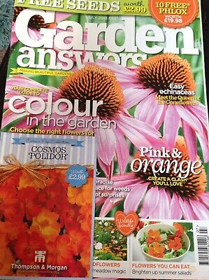 Garden Answers Magazine Issue July 2018 With Free Seeds