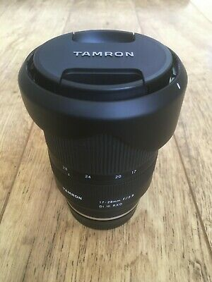 Tamron 17-28mm F/2.8 Di III RXD Wide Angle Camera Lens - Sony E-mount
