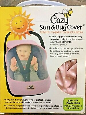 Cozy Sun & Bug Cover Pink with polka dots New