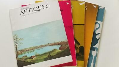 Antiques The Magazine - 1971 Five Issues