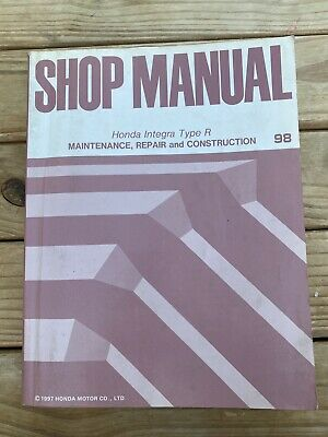 Honda Integra Type R Shop Manual