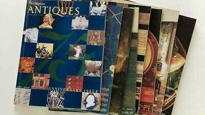 ANTIQUES THE MAGAZINE - 1997 EIGHT ISSUES - 75th ANNIVERSARY