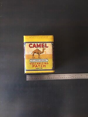 Vtg 1940's Camel Vulcanizing Patch No. 13x NOS - Never Opened