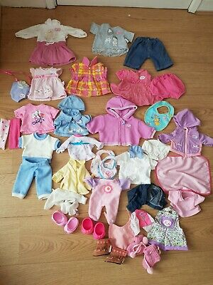 Dolls Baby Clothes Bundle Baby Anabelle Baby Born Zapf Creation and extra