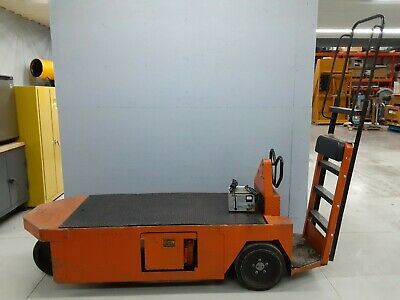 Taylor Dunn Electric 24V Cart Stock Chaser SC 175 1175 Burden Carrier w/ Charger