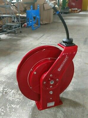 "Reelcraft 7650 OHP 3/8"" 50 ft Spring Return Hose Reel 4800 psi Max Pressure"