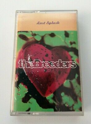The Breeders - Last Splash (4Ad) Rare 1993 Cassette Tape