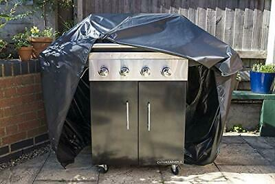 Big Fitted Quality BBQ Cover 2 x Zips, elasticated hem Barbecue Waterproof &