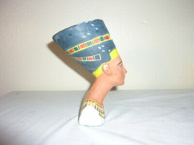 "Ancient Egyptian Nefertiti Bust 6.00"" Tall"