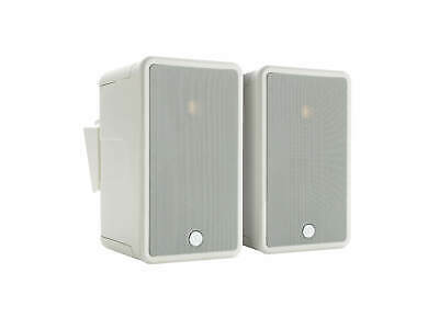 Pair Of Monitor Audio Climate 50 Speakers - White - Open Box