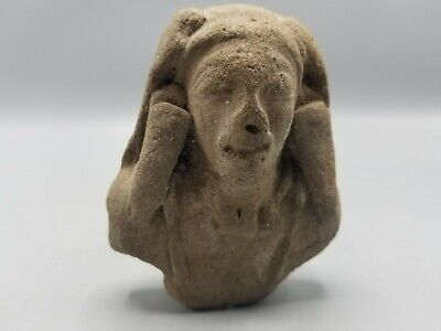Exceptional Fragment Of A Pre-Columbian Statuette With Museum Ascension Number