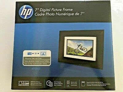 HP Digital Picture Frame With Remote DF730 New in box