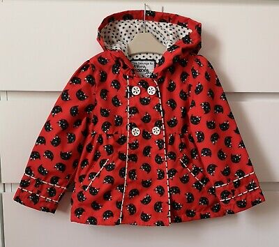 TU___CAT red spring jacket girl age 2-3 yrs VGC