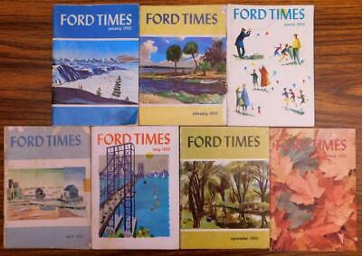 1950 Ford Times 7 Issues slf-top
