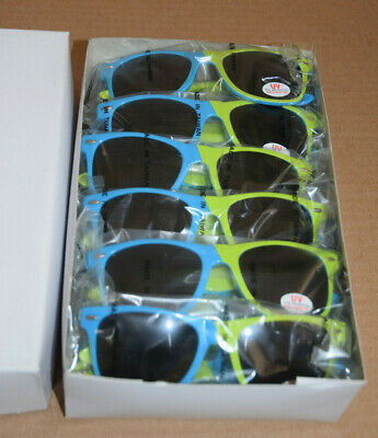 Lot of 12 New Rare Promotional Microsoft Windows Sunglasses Blue/Green