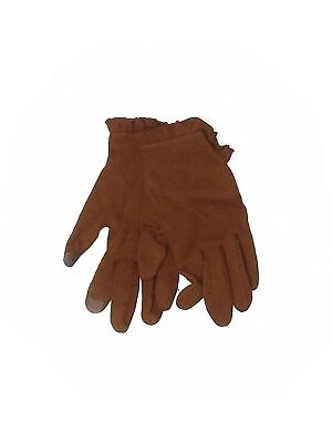Unbranded Women Brown Gloves S
