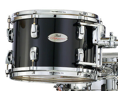 "Pearl Reference 12"" Diameter X 8"" Deep Mounted Tom/Piano Black/Finish # 103/RARE"