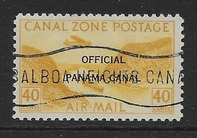 Canal Zone SC CO12 official cancelled-to-order, OG, NH, VF