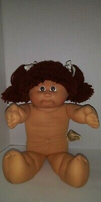 Cabbage patch Girl Red Brown Hair Brown Eyes