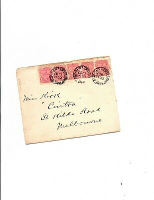 New South Wales 1907 SHIP ROOM MAIL to Melbourne