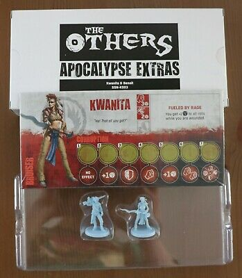 The Others 7 Sins Apocalypse Extras CMON Board Game Kickstarter Exclusive New