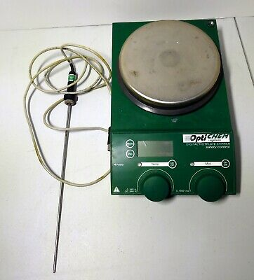 Chemglass Digital Hotplate Stirrer Optichem