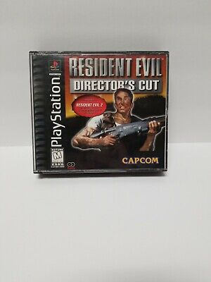 PS1 Resident Evil Director's Cut Game Case Only