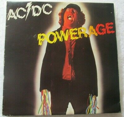 Ac/Dc Powerage Oz Albert Aplp-030 1St Maxicut  Bon Scott Angus, Malcolm Young
