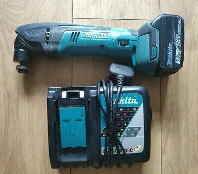 Makita DTM50 18v Multi- Tool Plus 3.0AH Battery and charger.