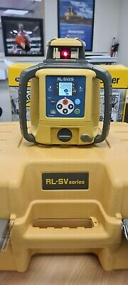 Topcon RL-SV2S Dual Grade Self-Leveling Rotary Grade Laser Level NEW WITH CERT