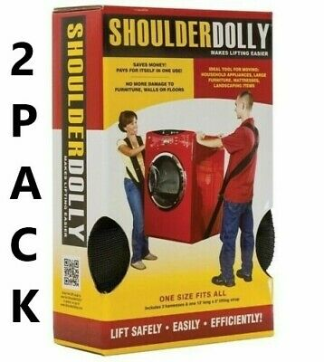 Nielson Products LD2000 2-Person Shoulder Dolly; 2 Pack