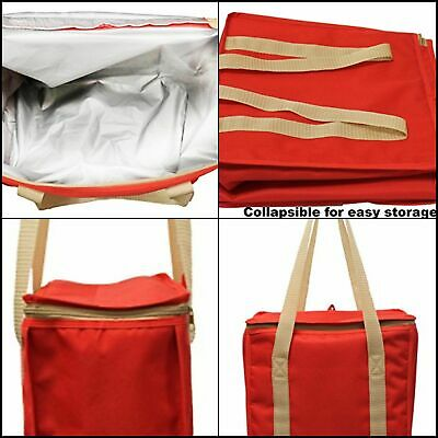 Insulated Grocery Bags Reusable Heavy Duty Nylon Thermal Cooler Tote Leakproof