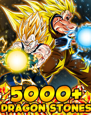 Dokkan Battle Global 5000+ Dragon Stones!!!