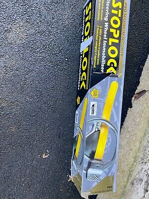 Stoploc Steering Wheel Lock- Black/Yellow
