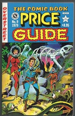 Overstreet Comic Book Price Guide #9 NM/NM- Wally Wood SC $130 FREE S/H