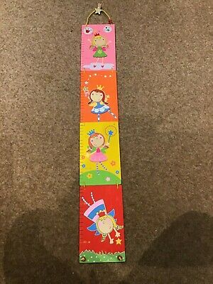 Hanging Wooden fairy wall Height Chart.