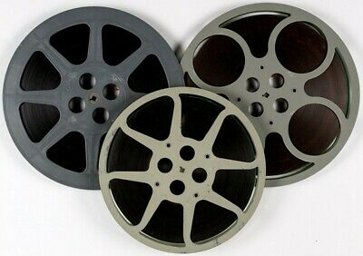 George Pal's Doc Savage: The Man Of Bronze 16mm Feature Film x3 1200' Reels 1975