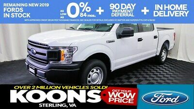 2019 Ford F-150 XL AWESOME DEAL 4DOOR 2WD F-150 WORK TRUCK REARVIEW CAMERA TOW HITCH