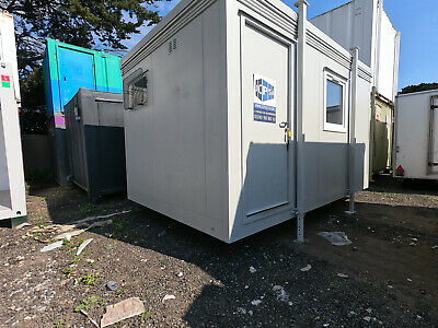 16ft x 9ft SITE OFFICE PORTABLE BUILDING WITH SEPARATE TOILET £3250 + VAT OFFER