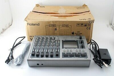 Roland VR-3 Portable Audio Video A/V Mixer Switcher Perfect Work[Excellent++++]
