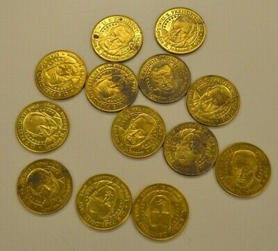 Lot of 118 Presidential Coins Sunoco 2000 Series