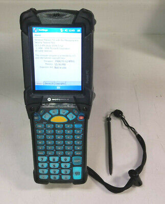Symbol Motorola MC9090-GF0SJEFA69R Wireless Barcode Scanner w/ Battery & Stylus