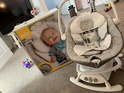 Joie Sansa 2 in 1 Baby Rocker and Swing - Petite City IMMACULATE CONDITION