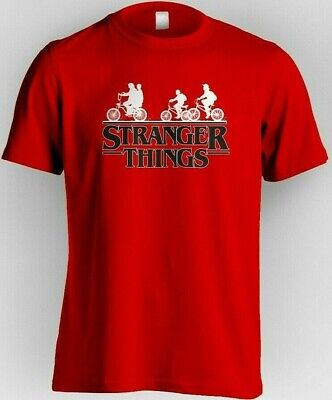 1€ Camiseta STRANGER THINGS Personalizada Series TV  Once Hombre Chica Netflix